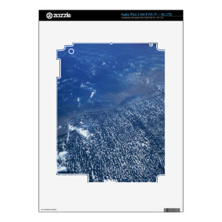 Land Meeting Ocean Decals For iPad 3