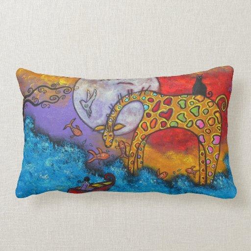 Land Meets Sea Pillow