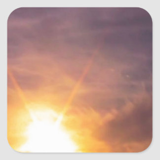 Land of 1000 Suns Square Sticker