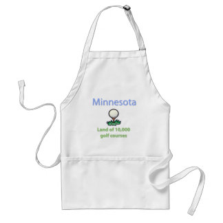 Land of 10,000 Golf Courses Adult Apron