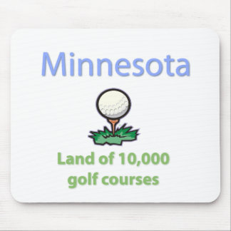 Land of 10,000 Golf Courses Mousepads