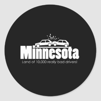Land of 10,000 Really Bad Drivers Stickers