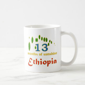 Land of 13 months of sunshine classic white coffee mug
