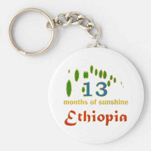 Land of 13 months of sunshine key chains
