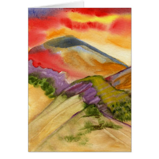 Land of Bloom Stationery Note Card
