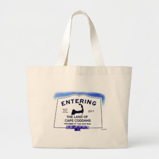 Land of Cape Coddahs Large Tote Bag