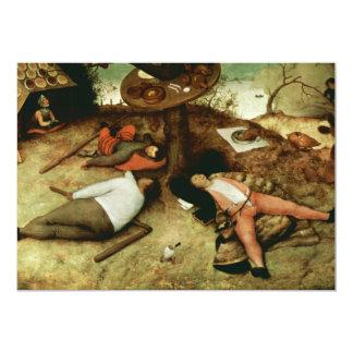 Land of Cockaigne by Pieter Bruegel the Elder Card
