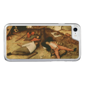 Land of Cockaigne by Pieter Bruegel the Elder Carved iPhone 7 Case