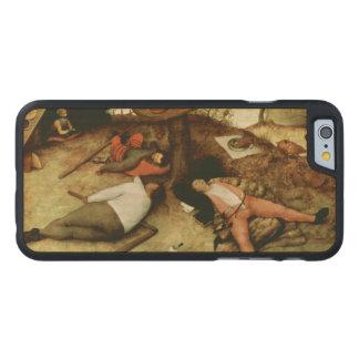Land of Cockaigne by Pieter Bruegel the Elder Carved® Maple iPhone 6 Slim Case