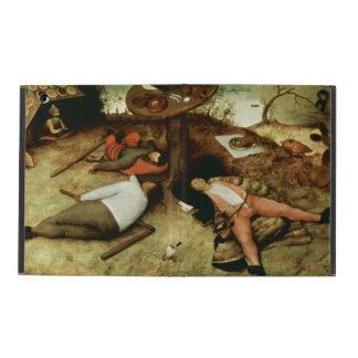 Land of Cockaigne by Pieter Bruegel the Elder iPad Cover
