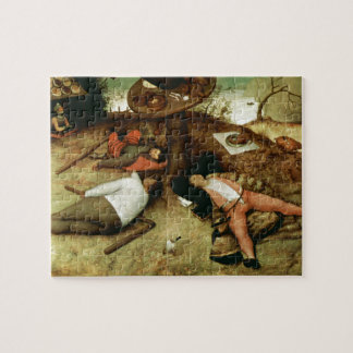 Land of Cockaigne by Pieter Bruegel the Elder Jigsaw Puzzle