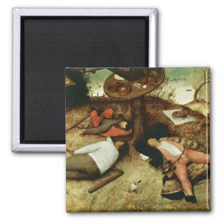 Land of Cockaigne by Pieter Bruegel the Elder Magnet