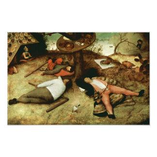 Land of Cockaigne by Pieter Bruegel the Elder Photo Art