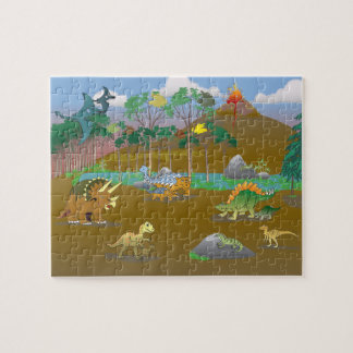 Land of Dinosaurs! Puzzles