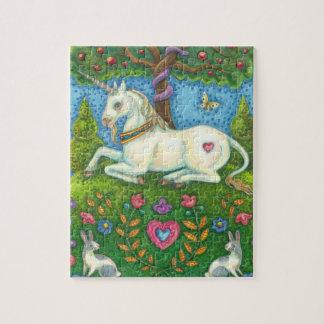 Land Of Eden Unicorn PUZZLE Susan Brack