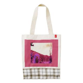 Land of Enchantment Girl Zazzle HEART Tote Bag