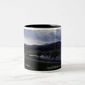Land of Enchantment, New Mexico Two-Tone Coffee Mug
