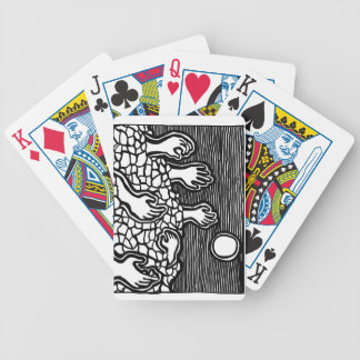 Land of Hands poker cards by ParanormalPrints