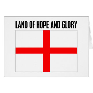 Land of Hope and Glory Card