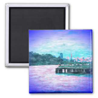 Land of Make Believe 2 Inch Square Magnet