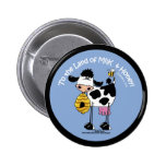 Land of Milk & Honey 2 Inch Round Button