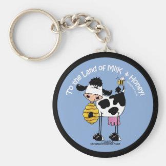 Land of Milk Honey Keychains