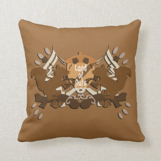 Land of Nuts Family Pillows