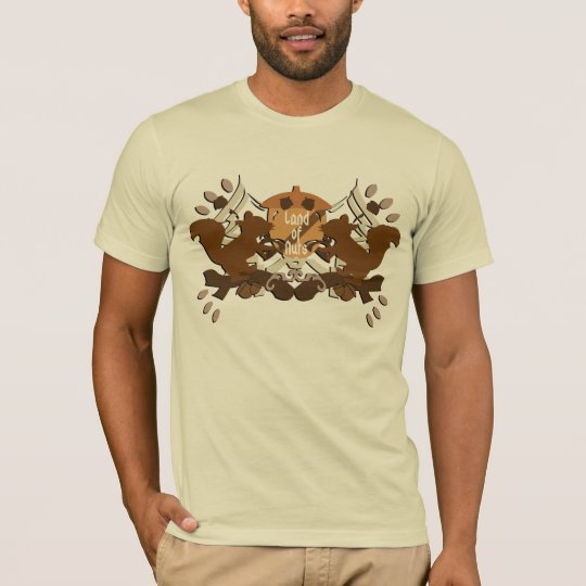 Land of Nuts Family Shield T-Shirt
