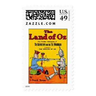 Land Of Oz Postage Stamp