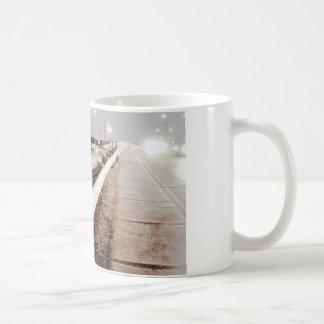 Land Of Suburbia, Beacon On The Bridge. Coffee Mug