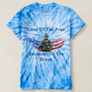 Land of the Cree Because of the Brave T-shirt