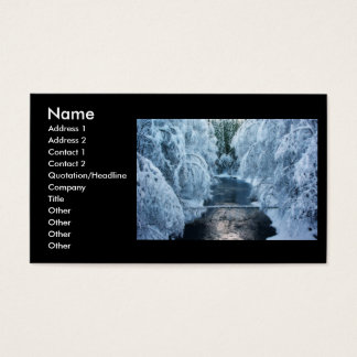 Land Of The Elves Business Card