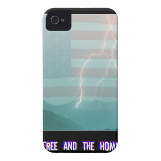 Land of the Free and the Home of the Brave iPhone 4 Cases