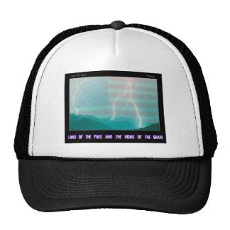 Land of the Free and the Home of the Brave Trucker Hat