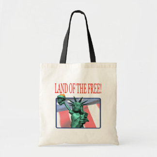 Land Of The Free Canvas Bags