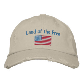 Land of the Free Baseball Cap