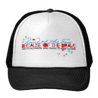 Land of the Free: Boyfriend Trucker Hat