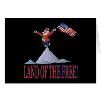 Land Of The Free Card