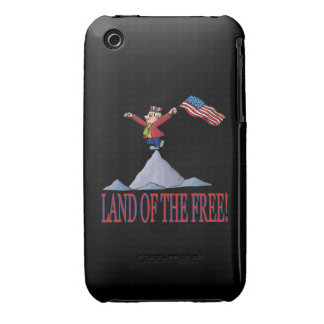 Land Of The Free Case-Mate iPhone 3 Case