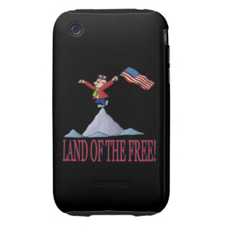 Land Of The Free iPhone 3 Tough Case