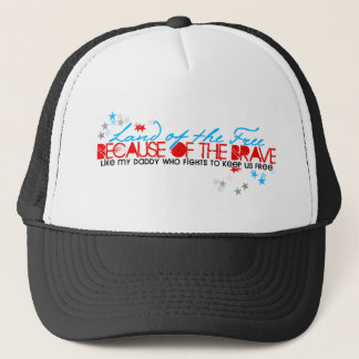 Land of the Free: Daddy Trucker Hat