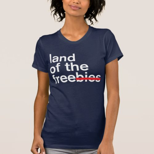 land of the free  dark T_Shirt