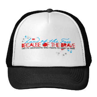 Land of the Free: Grandsons Trucker Hat