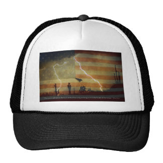 Land of the Free Home of the Brave Trucker Hat
