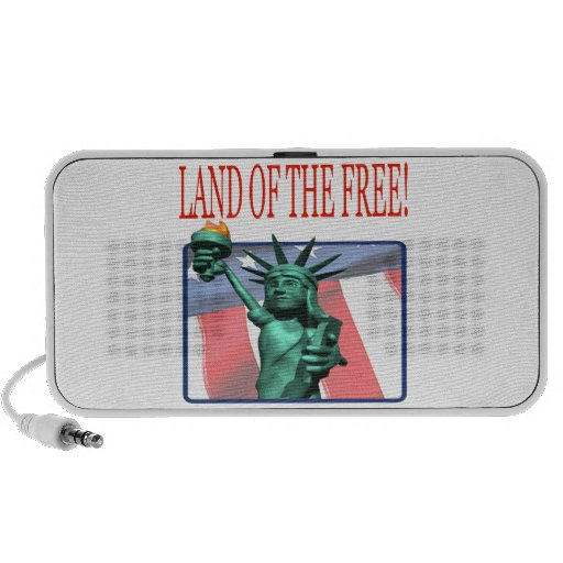 Land Of The Free iPod Speakers