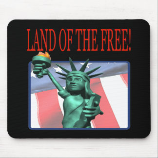 Land Of The Free Mouse Pad