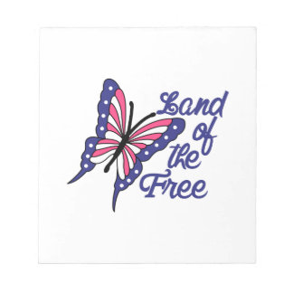 Land Of The Free Notepad
