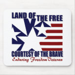 Land of the Free: OEF Vet Mouse Pads