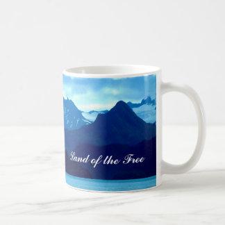 Land of the Free - Panaramic Mountains Mug