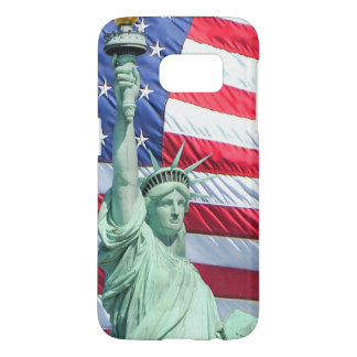 Land of the Free Patriotic Samsung Galaxy S7 Case
